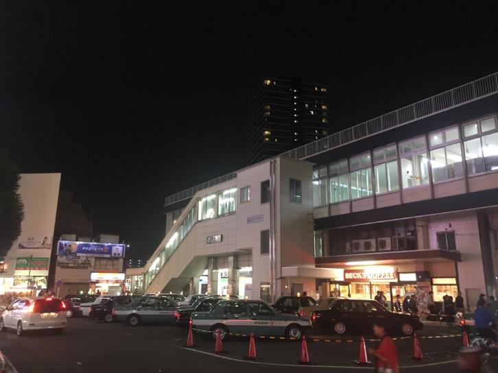 蕨駅 改札