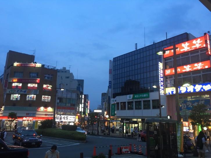 北浦和駅 西口