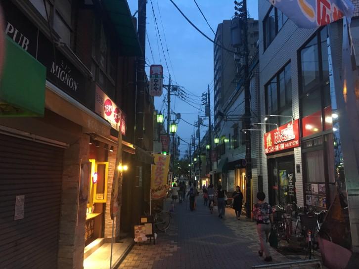 北浦和駅 西口商店街