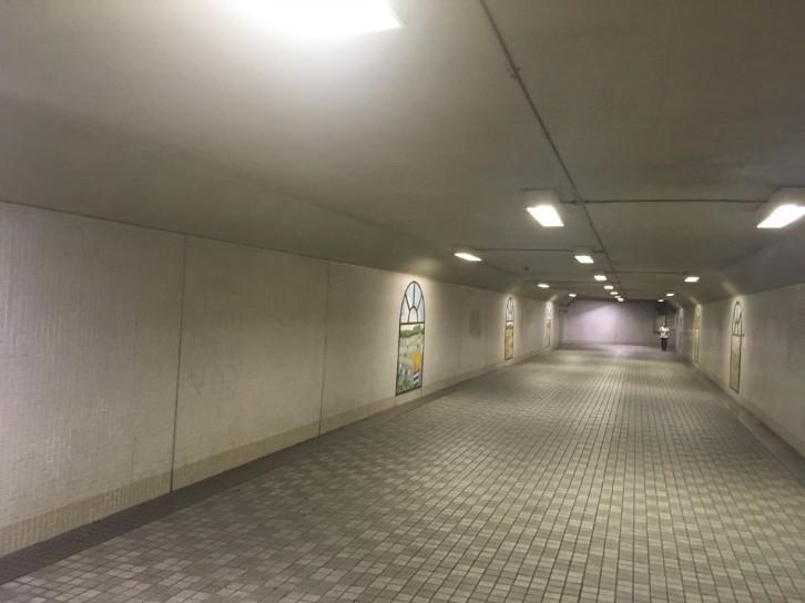 北浦和地下道