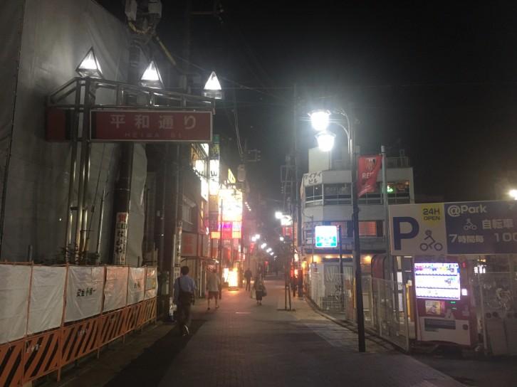 北浦和駅 平和通り