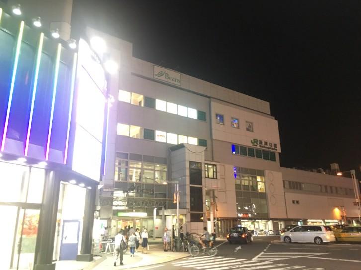 西川口駅 東口の様子