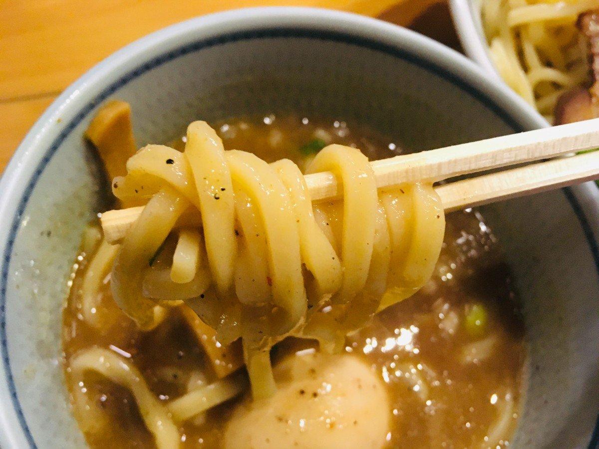 蕾分家 特性煮干しつけ麺2