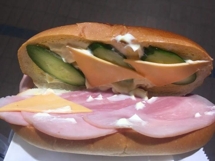パンの田島:ハムとチーズ
