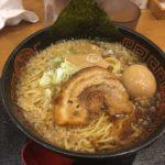 ガラ喰楽学校 濃厚醤油らぅ麺