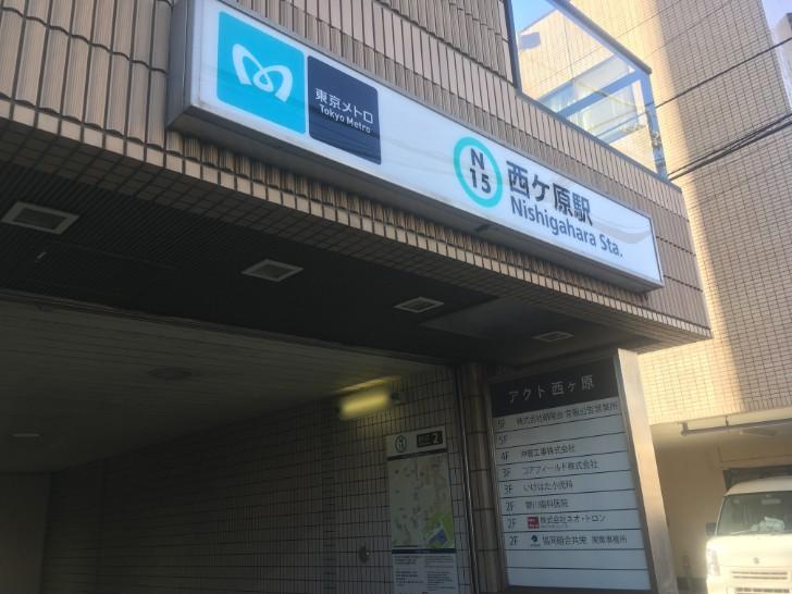 南北線西ヶ原駅