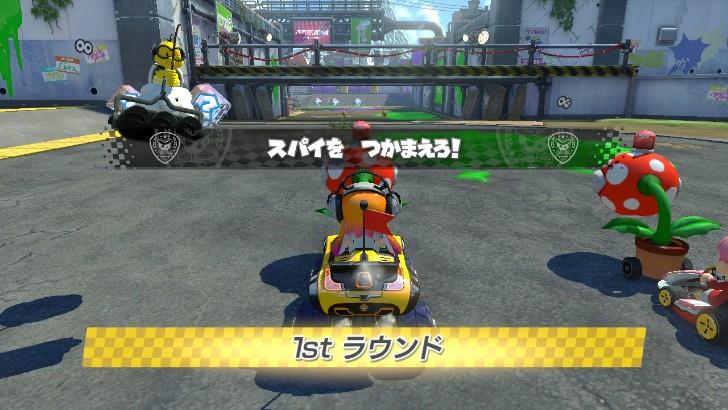 マリオカート8DX バトルモード