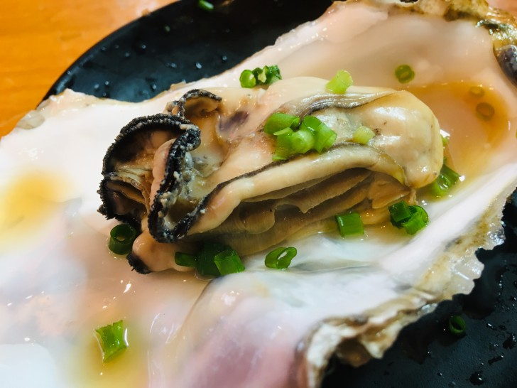 焼き岩牡蠣