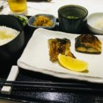 坂本:サバの塩焼き