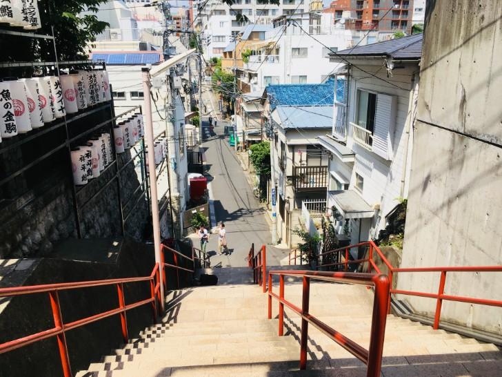 須賀神社階段