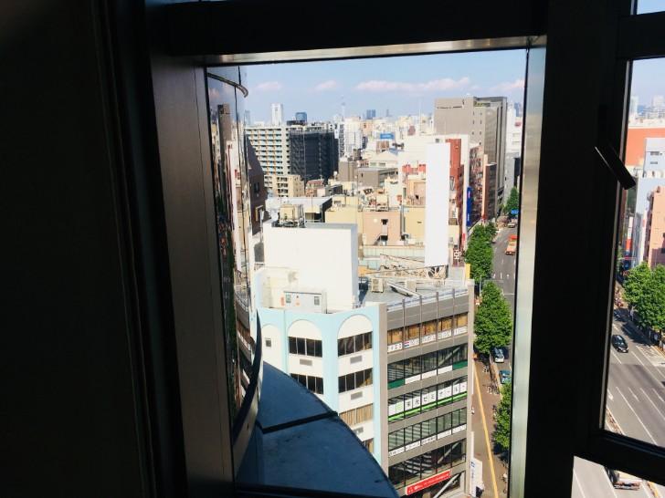 消防博物館:窓からの景色