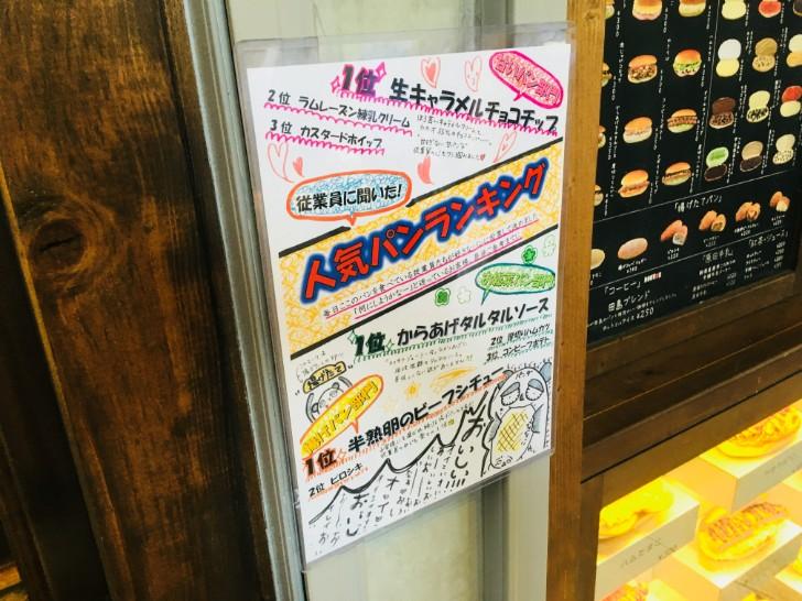 パンの田島人気パンランキング