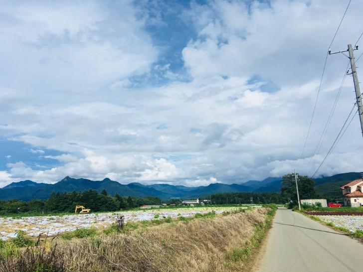 滝沢牧場への道のり