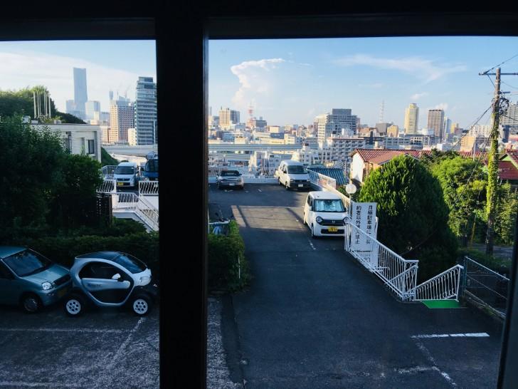 喫茶エレーナからの眺め