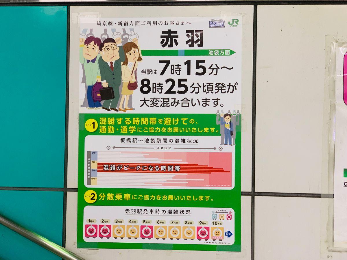埼京線 ラッシュ