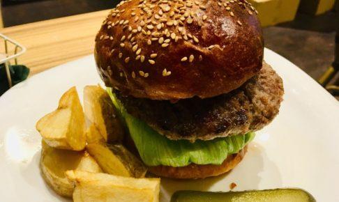 パンパバーガーダイニング:ハンバーガー