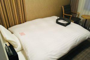 富山地鉄ホテル:ベットルーム