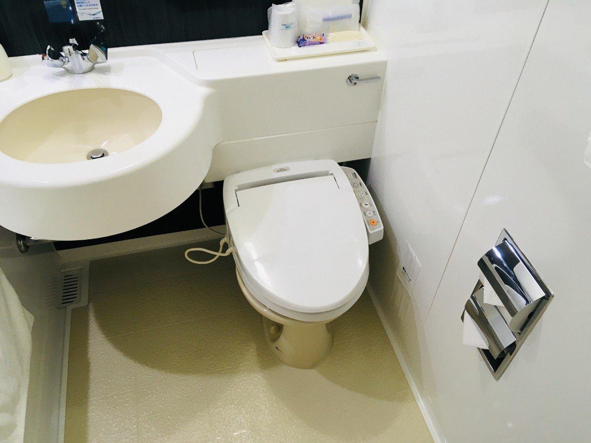 富山地鉄ホテル:トイレ