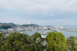 羽豆岬展望台からの眺め