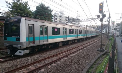 千代田線を走る小田急線