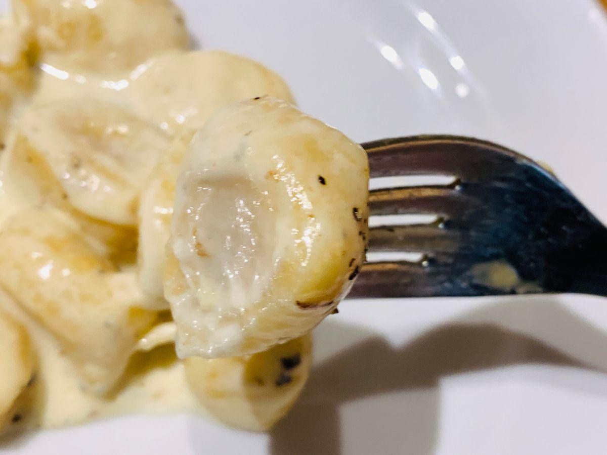 ゴルゴンゾーラのクリームソース2