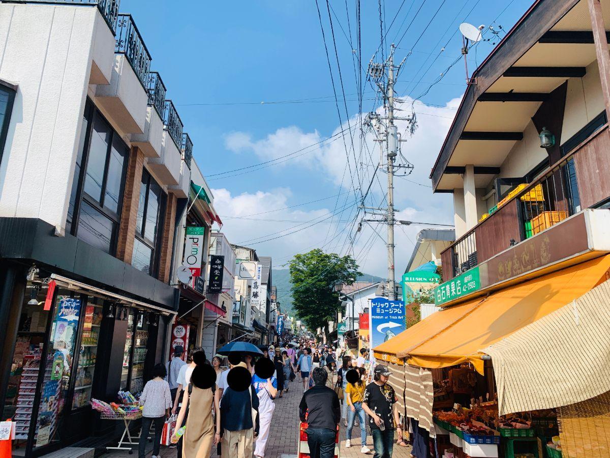旧軽井沢通り