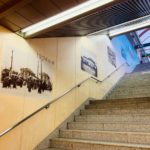 桜木町駅ホームへの階段