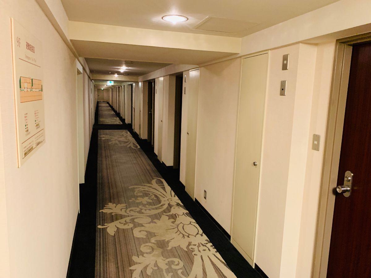 名鉄ニューグランドホテル 廊下